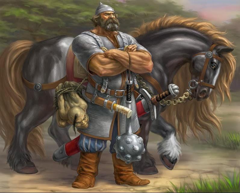 ИЛЬЯ МУРОМЕЦ И КАЛИН-ЦАРЬ — 100 Великих легенд и мифов мира